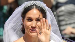 Wunderschöne Braut: Meghan Markle