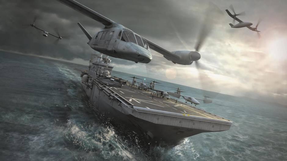 Zukunftsmusik: Bell hat eine Reihe von Bildern über mögliche Einsätze der V-280 Valor rendern lassen.