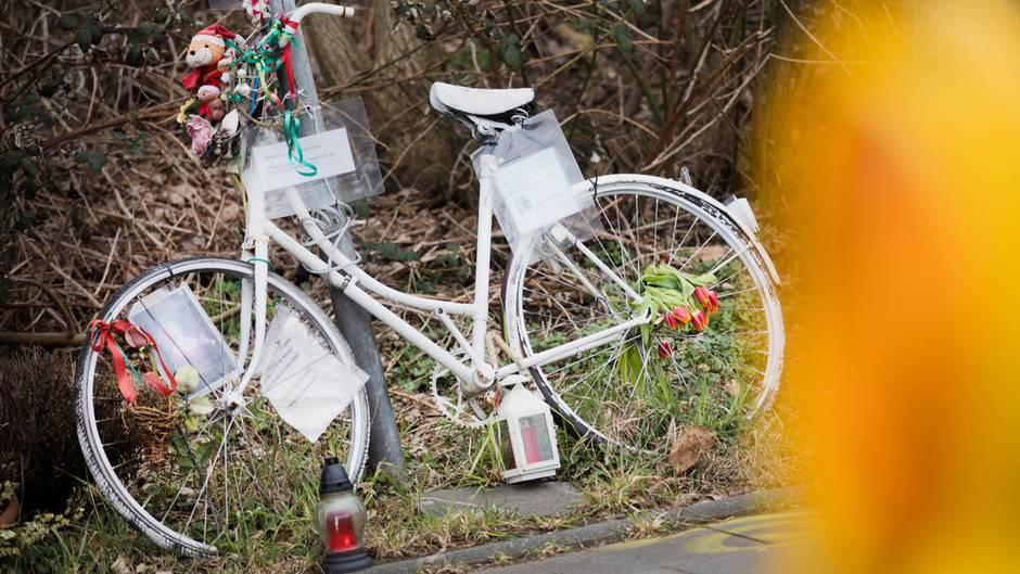 Ghostbikes erinnern an die Opfer.