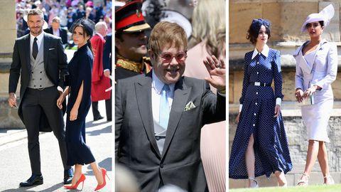 Meghan Markle Prinz Harry Hochzeit: Beckham, Elton John, Priyanka Chopra