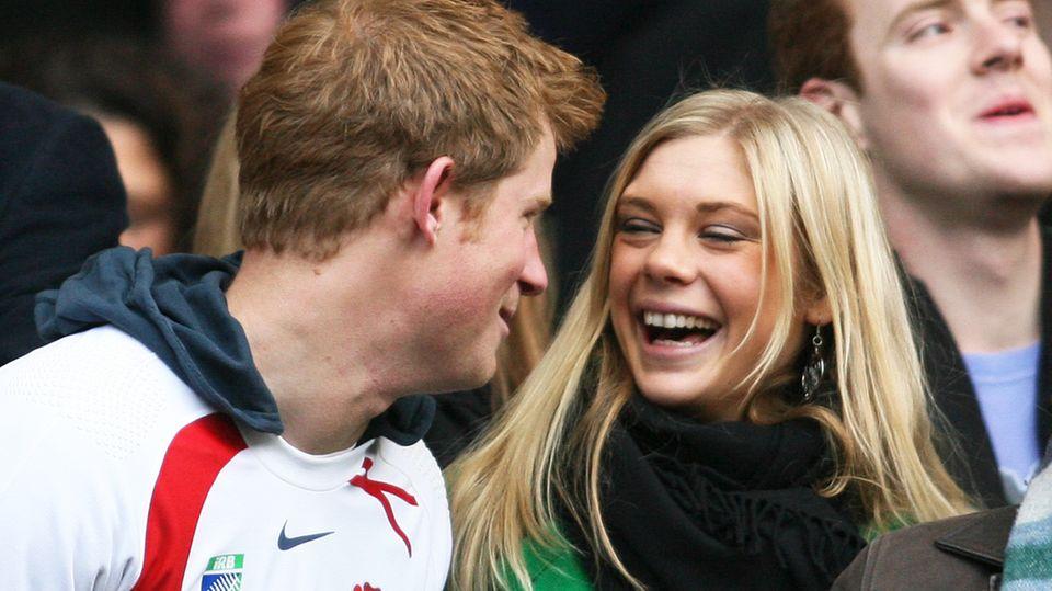 Da waren sie noch ein verliebtes Paar: Prinz Harry und Chelsy Davy 2008