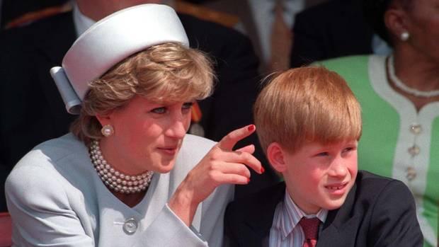 Prinzessin Diana Prinz Harry