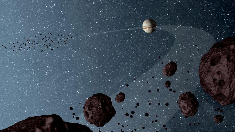Asteroid umkreist seit mindestens einer Million Jahren den Riesenplaneten Jupiter