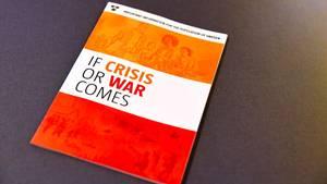 Die Regierung in Schweden verteilt eine Infobroschüre für den Ernstfall an die Bevölkerung
