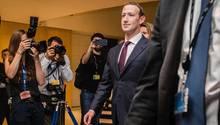 Mark Zuckerberg Facebook Anhörung