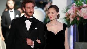 Pierre und Beatrice Casiraghi beim diesjährigen Rosenball in Monaco