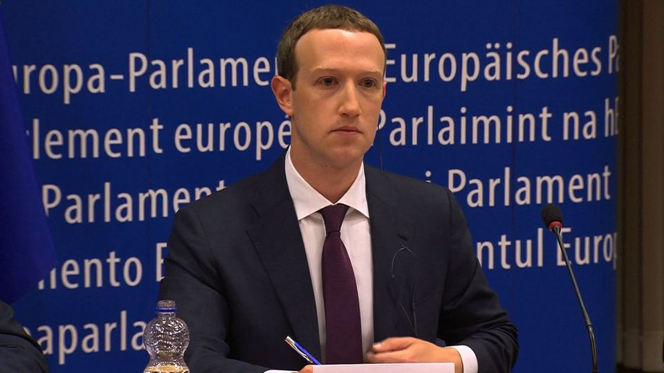 Mark Zuckerberg EU
