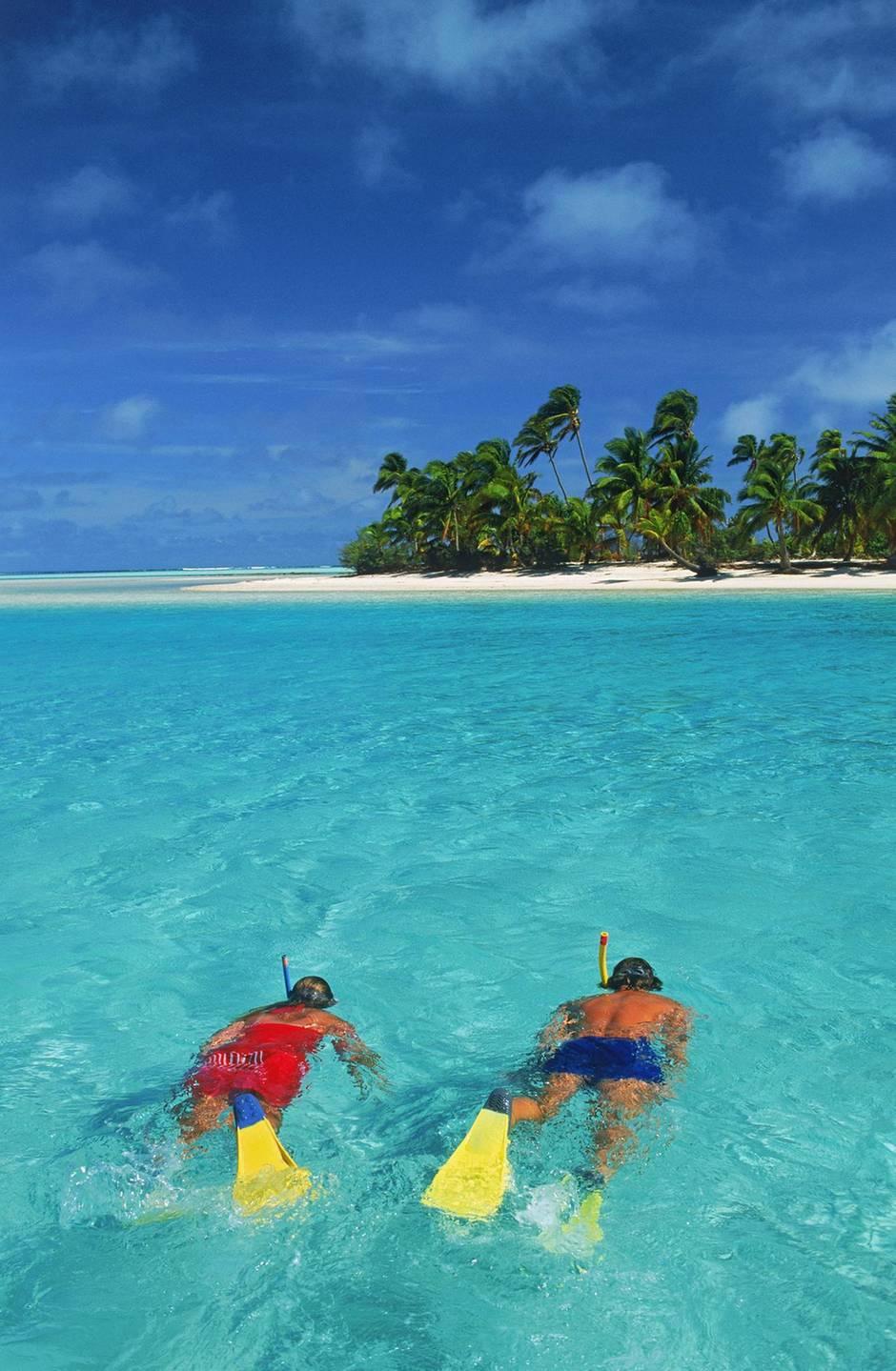 Die Cooks Islands, eine in die türkis-blaue Weite des Südpazifiks gewürfelte Inselgruppe, könnte der Prototyp fürs Paradies gewesen sein.