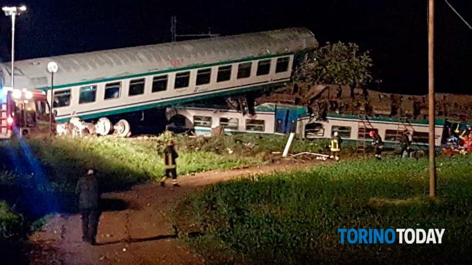 Zugunglück in Italien: Es gibt mehrere Tote und Verletzte