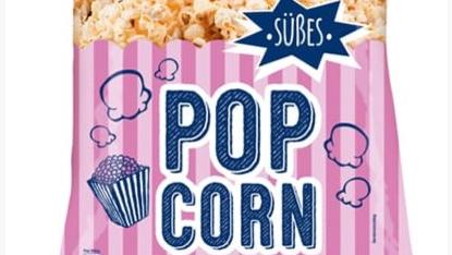 Rückruf süßes Popcorn XOX
