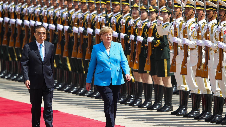 Angela Merkel mit Li Keqiang