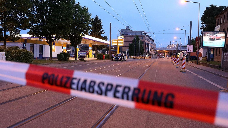 Fliegerbombe in Dresden