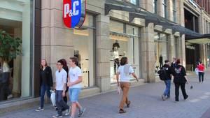 Die Filiale des Kaufhauses Peek & Cloppenburg in Hamburg
