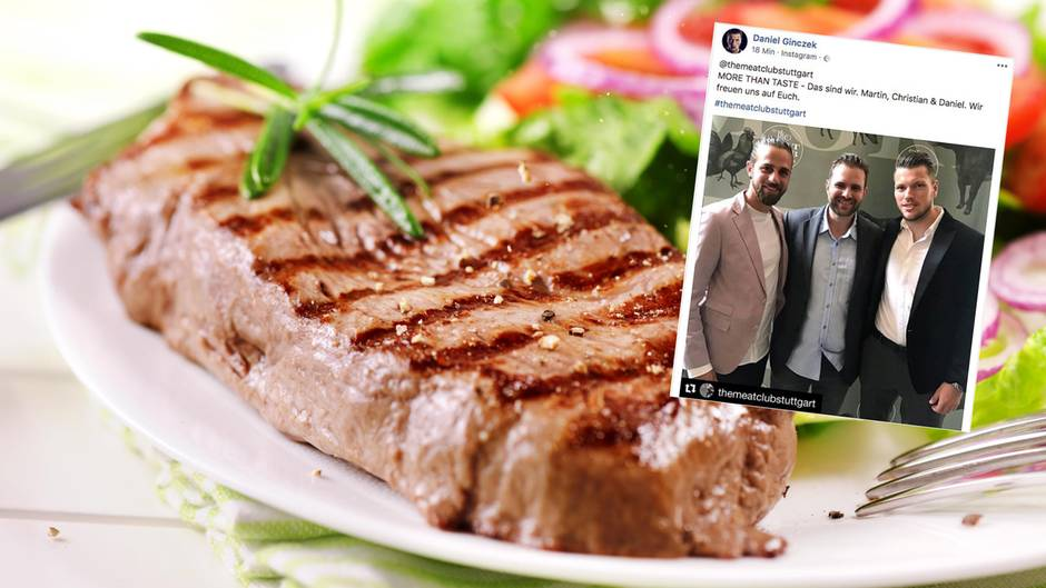 Die Fußballprofis Daniel Ginczek und Martin Harnik sind gemeinsam mit Christian Hartmann Mitinhaber eines Fleischrestaurants in Stuttgart