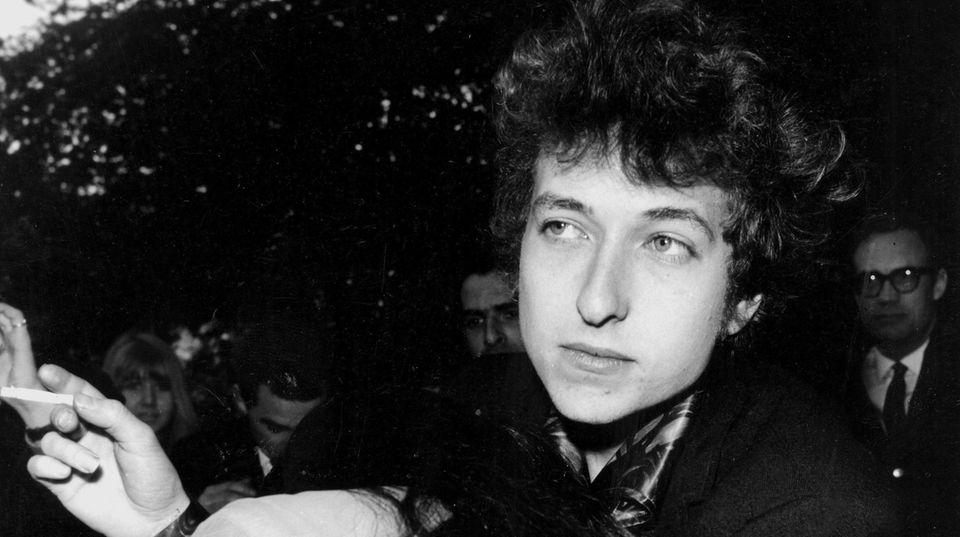 Songwriter Bob Dylan in den 60er Jahren
