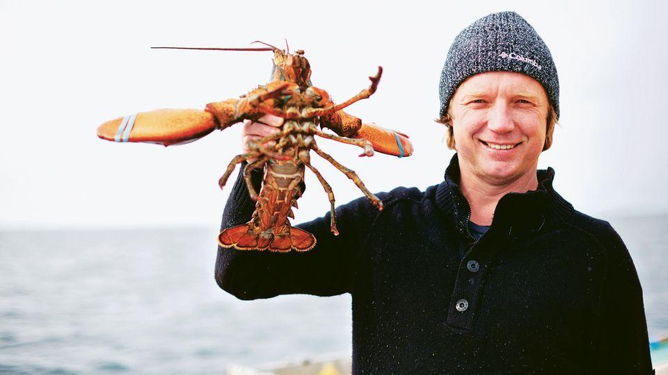 Der Niederländer Bart van Olphen liebt Fisch und Meeresfrüchte – und kämpft deshalb dafür, dass die Bestände nicht aussterben