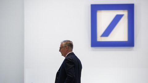 Paul Achleitner, Aufsichtsratsvorsitzender der Deutschen Bank, bei der Hauptversammlung