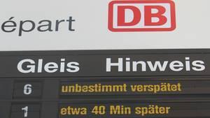 Zu spät am Flughafen, weil der Zug der Deutsche Bahn Verspätung hatte. Das Gericht argumentiert, dass die Kläger einen Zug hätten nehmen müssen, mit dem sie nach regulärem Fahrplan mindestens drei Stunden vor Abflug am Airport gewesen wären.