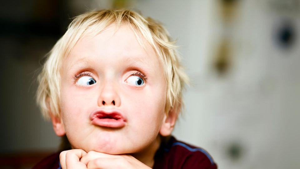 Wenn sich das Kind einfach nur über dessen Eltern wundert (Symbolbild)