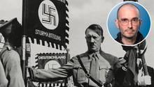"""Der Kriminalbiologe Mark Benecke hat schon vor 15 Jahren Schädelfragmente von Adolf Hitler untersucht. Er ist sich sicher: Hitler ist tot """"oder läuft ohne Kiefer in Argentinien rum""""."""