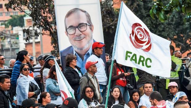 Guerillaboss Londoño kandidierte für die Präsidentschaft, bis ihn ein Herzinfarkt stoppte