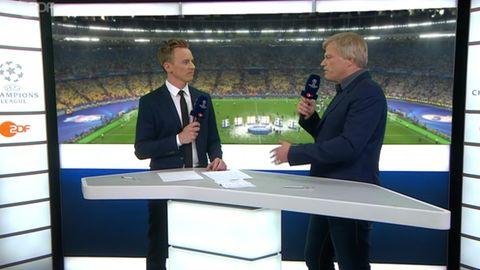 Champions-League-Finale: Oli Kahn und Jochen Breyer