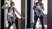 Anna Kournikova: Ihr ausgelassener Tanz mit Baby Lucy