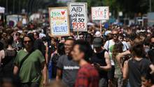 Anti-AfD-Demo in Berlin am 27.05.2018