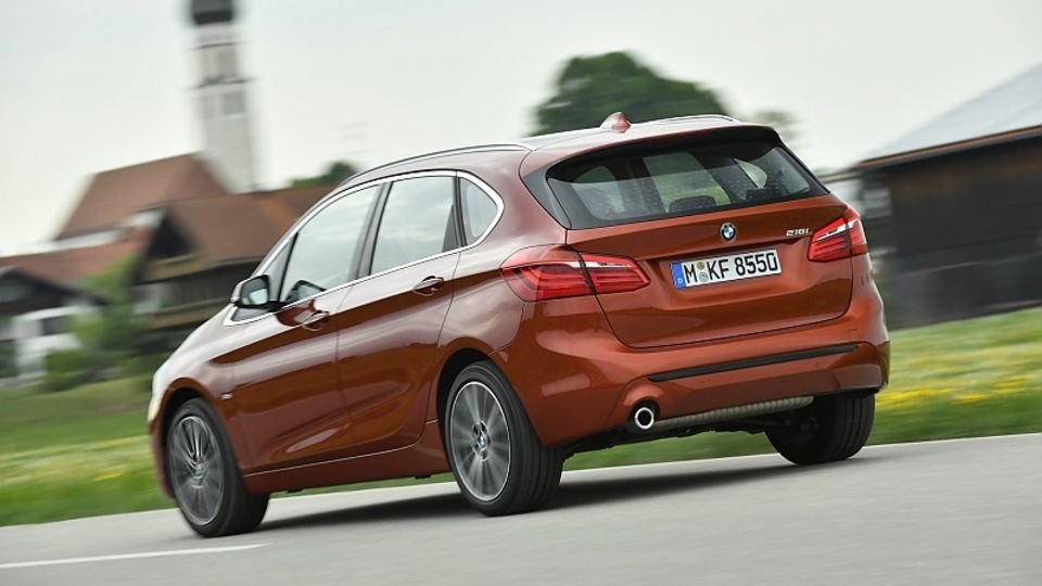 BMW 220d Active Tourer - optisch nahezu unverändert