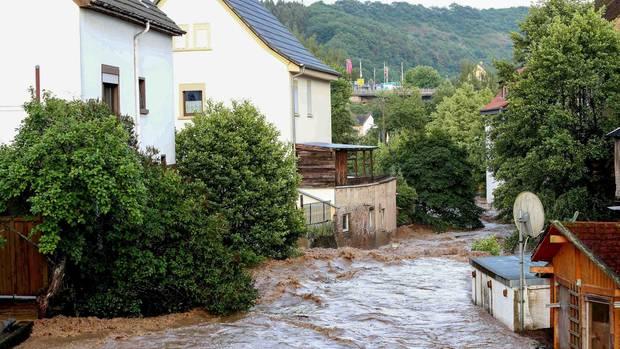 In der Region Fischbach in Rheinland-Pfalz wurde Katastrophenalarm ausgelöst