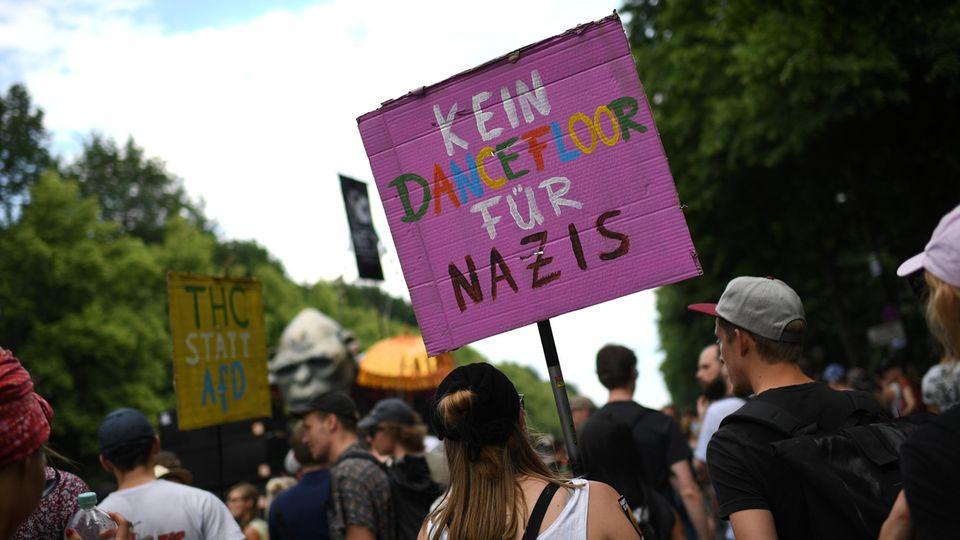 AfD Demo in Berlin