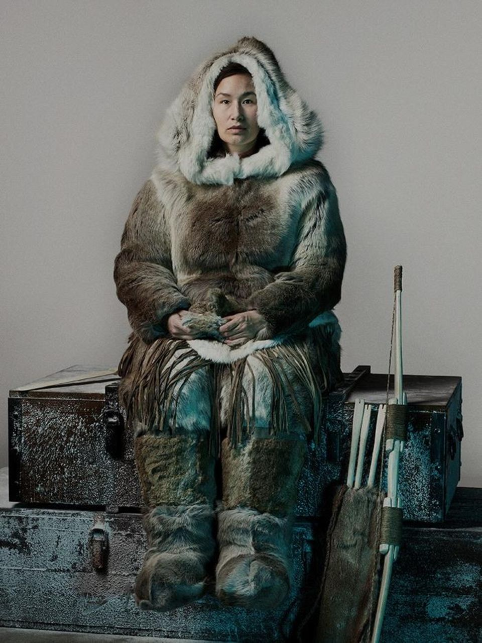 Lady Silence, die Inuit, kennt das Schicksal, das auf die Besatzung wartet.