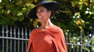 US-Schauspielerin Janina Gavankar bei der Hochzeit von Prinz Harry und Meghan Markle