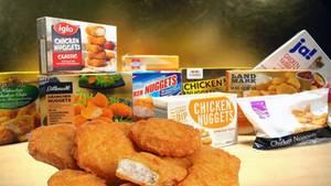 stern TV hat zehn verschiedene Chicken-Nugget-Produkte auf Qualität und Geschmack getestet.