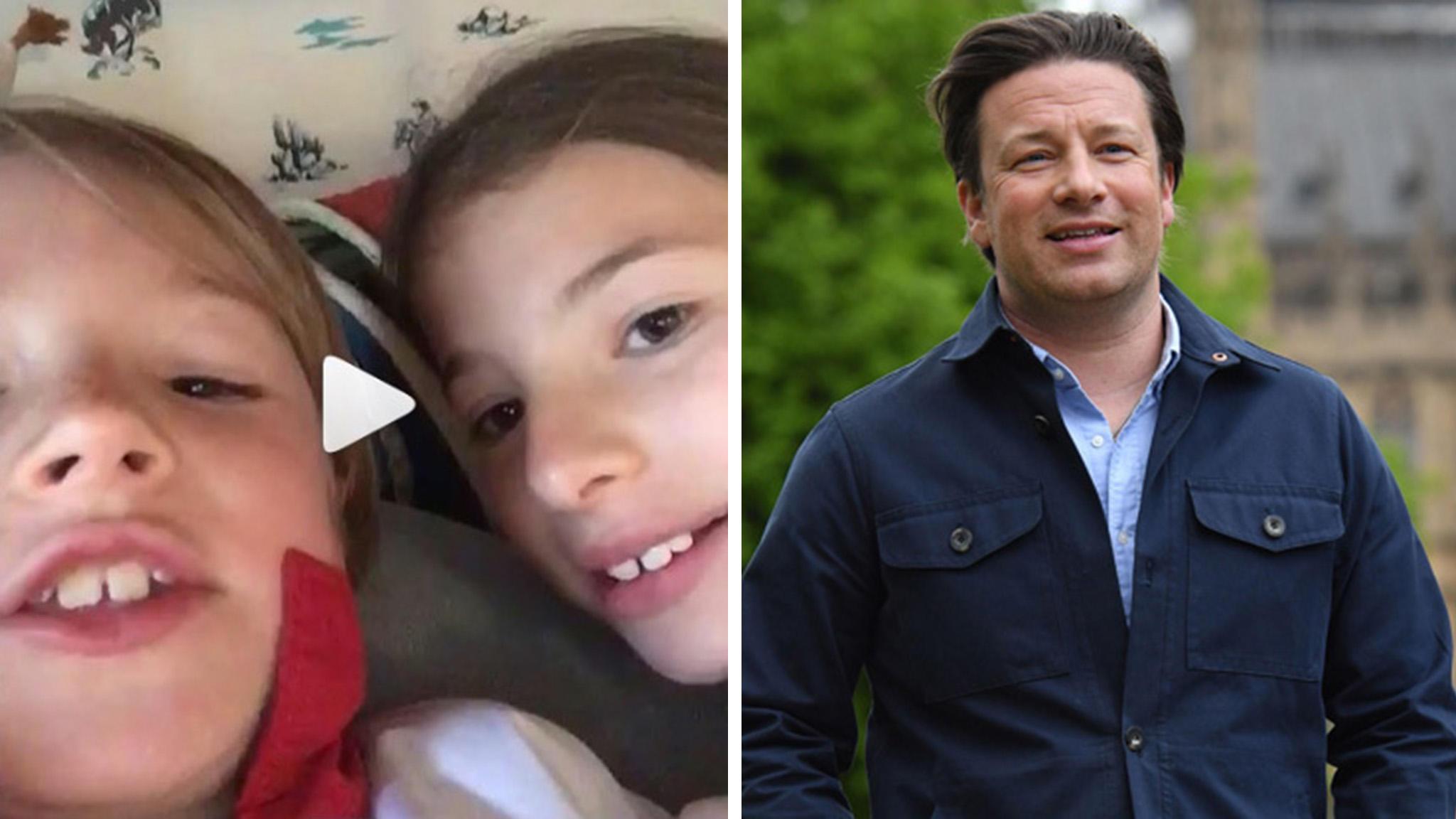 Jamie Olivers Kinder Singen Ihm Ein Geburtstagslied Auf Instagram