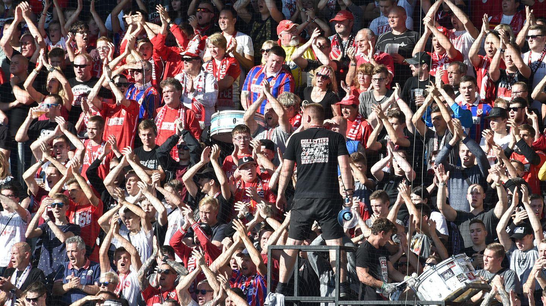 Cottbus Fans Aufstieg