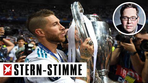 Sergio Ramos: Ein Brutalo. Ein lausiger Schauspieler. Ein vierfacher Champions-League-Sieger.