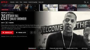"""Shalom"" wegretuschiert: Netflix ändert T-Shirt-Design von Jay-Z"