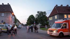 In dieser Straße in Salzgitter ereignete sich die Tragödie