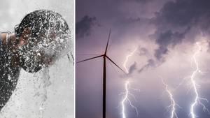 Hitzewelle und schwere Gewitter: Das Wetter in Deutschland am 29. Mai 2018