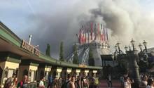 Brand im Europapark