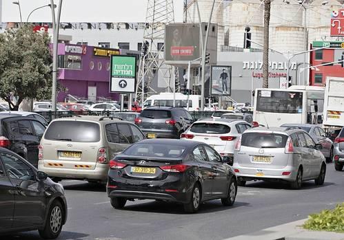 Auf den Straßen von Tel Aviv