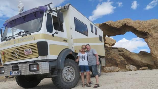 """""""Petra, ich glaub', jetzt muss ich sterben"""": Namibia-Urlauber spricht über Leoparden-Attacke"""