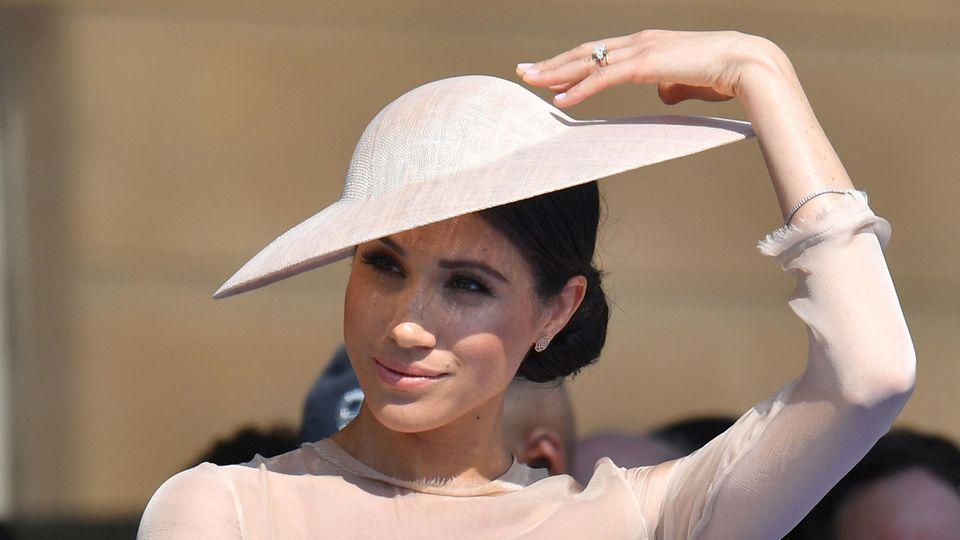Meghan Markle, Herzogin von Sussex, bei ihrem ersten offiziellen Auftritt