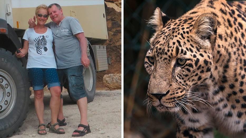 """""""Petra, ich glaub', jetzt muss ich sterben"""": Deutscher Urlauber spricht über Leoparden-Attacke"""