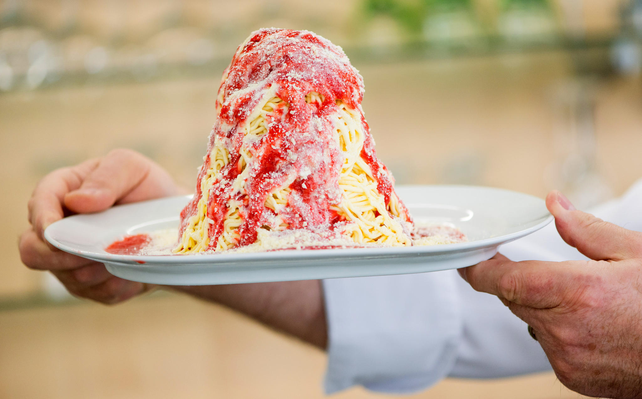 Spaghetti-Eis: Die Geschichte des 17-Jährigen, der es nie ...