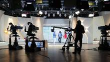 Eine Live-Sendung von QVC
