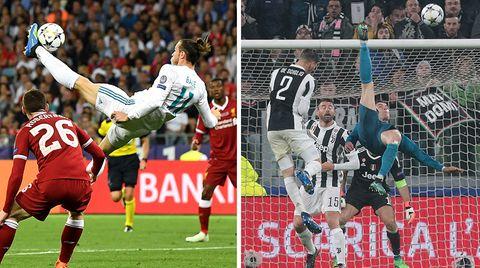 Champions League: Unglaubliches Detail bei Fallrückzieher-Traumtoren von Real Madrid