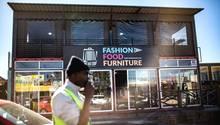 Ein Laden in Südafrika