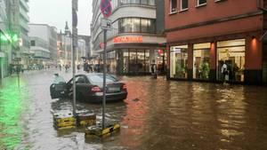 Deutschland - Unwetter - gewitter - NRW - Wuppertal